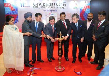 Inauguration Ceremony of the 11th Edition G-Fair Korea in Mumbai