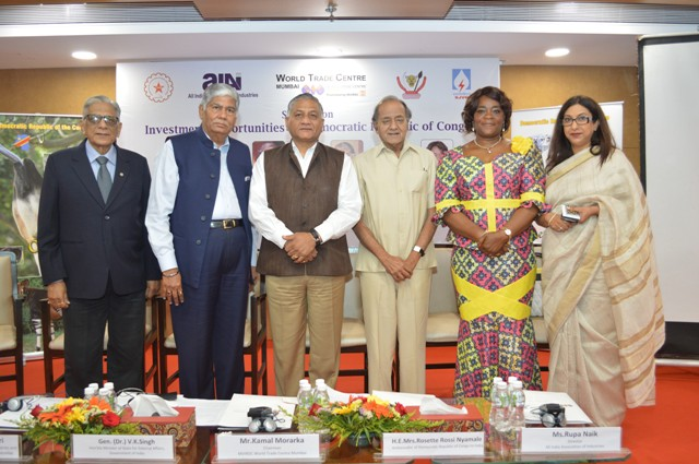 Investment climate conducive in Congo says Gen. (Dr.) Singh