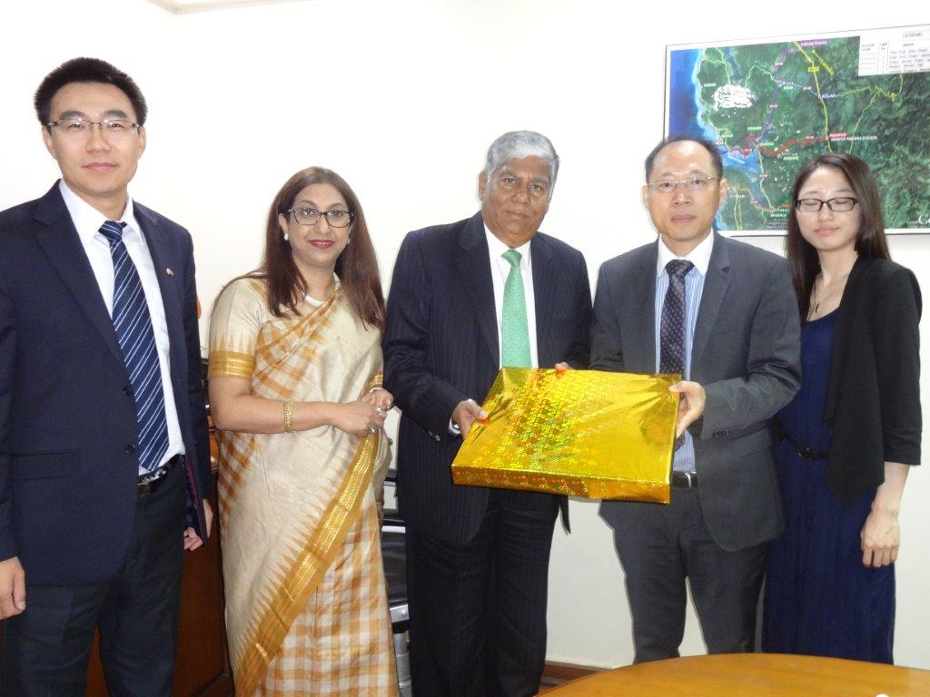 China is looking at Investment opportunities in India says: Mr. Guoxiang