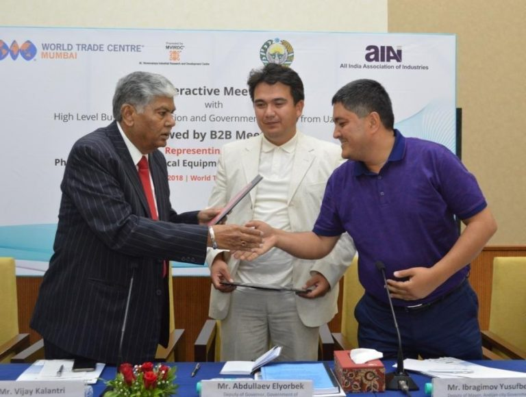 Andijan region can be a gateway to CIS countries for Indian companies,say Mr. Mansurov