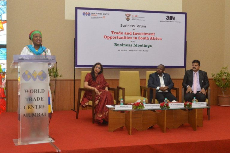 MSMEs from India & South Africa must continue our historical relations, said Ms. Ramokgopa, Consul General of South Africa in Mumbai