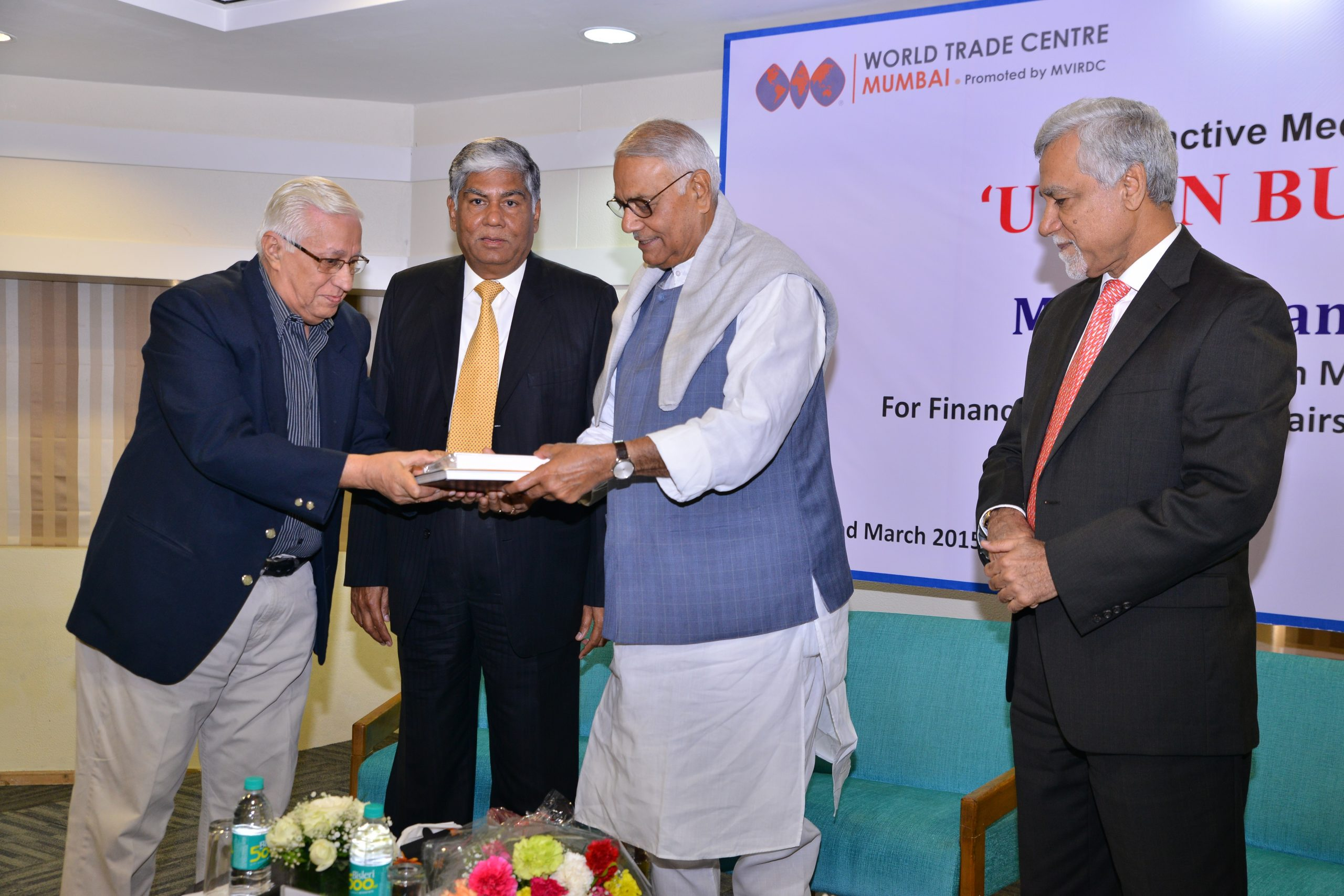 Thrust on Infrastructure to Fire up the Indian Economy, says Mr. Yashwant Sinha