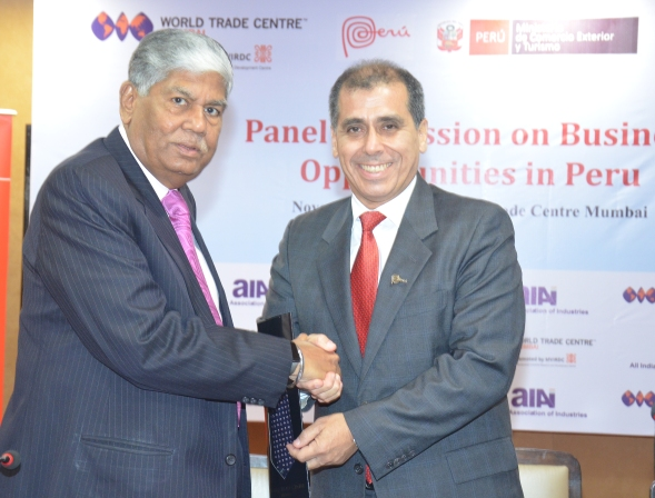 Peru –India to sign Trade agreement soon says Mr. Cabello