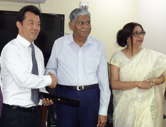Jiangsu Province is looking at investment in India