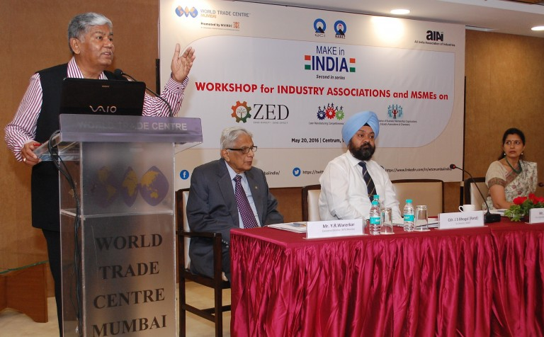 Press Release: ZED model to enable Indian MSMEs join global value chain