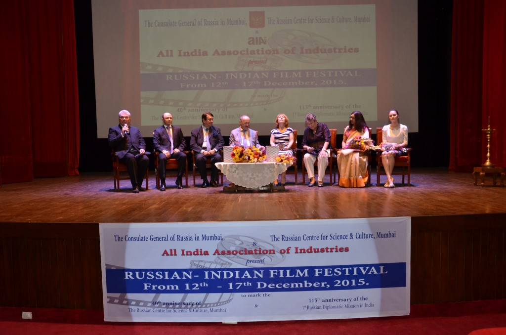 Russian-Indian Film Festival inaugurated at the Russian Centre for Science & Culture in Mumbai.