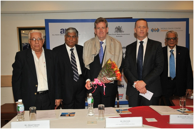 Australia seeks to deepen economic and trade linkages with India says Hon'ble Barry O' Farrell