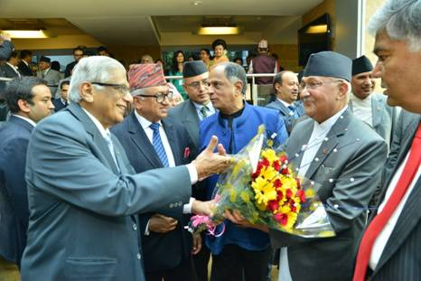 Conducive atmosphere for Trade & Investment in Nepal, says Prime Minister H.E. Mr. Oli