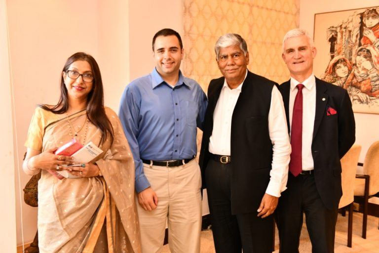 Top Port City in USA seeks trade, diplomatic and cultural ties with India, says Mr. Ibsen
