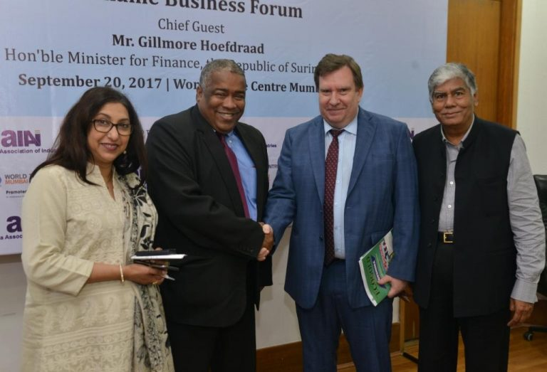Suriname offers tremendous opportunity for Indian companies to access Latin America and EU markets, says Mr. Hoefdraad