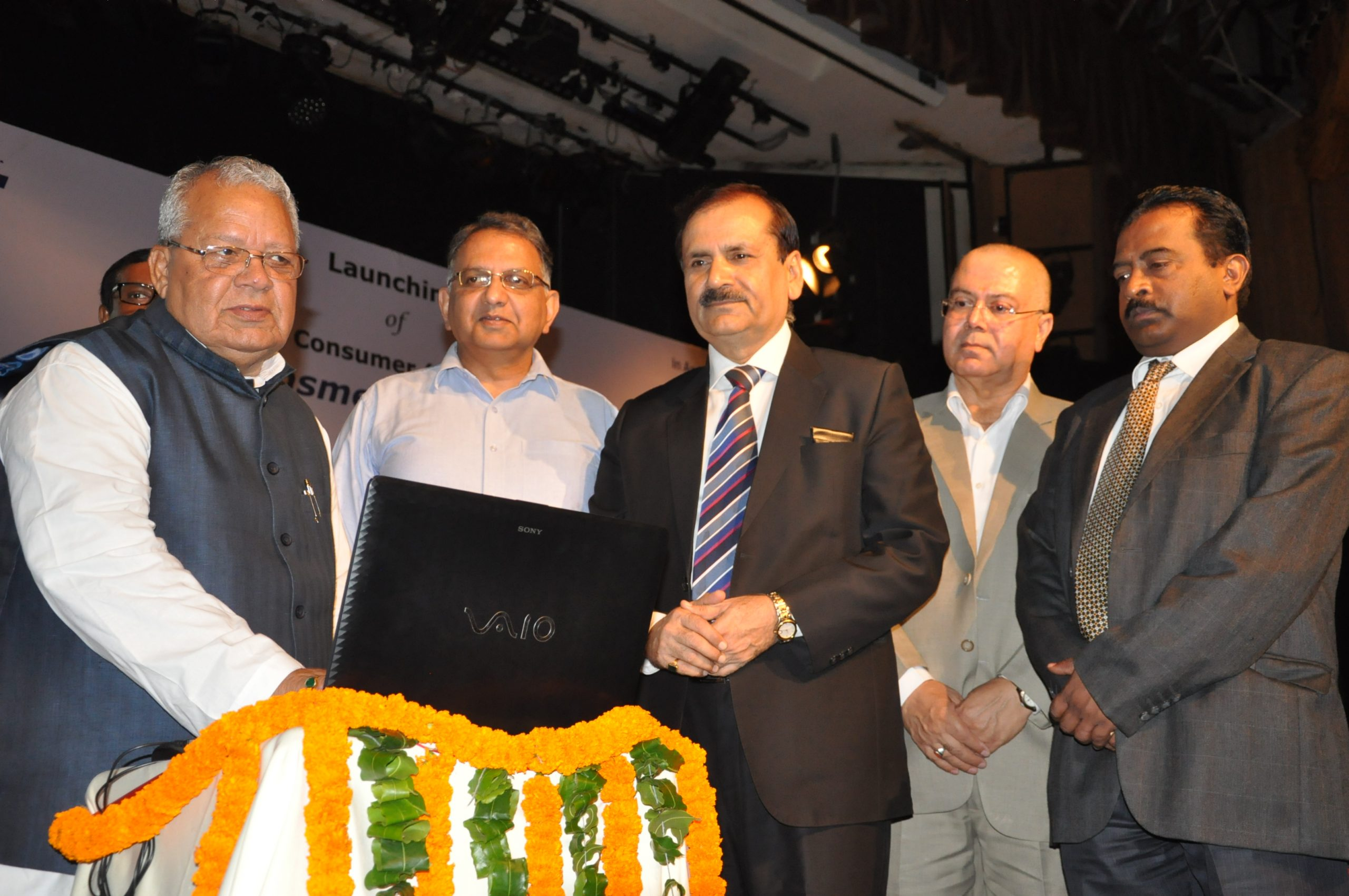 Shri Kalraj Mishra, Hon'ble Minister, MSME launches NSICs B2C Web Portal www.msmeshopping .com for MSMEs.