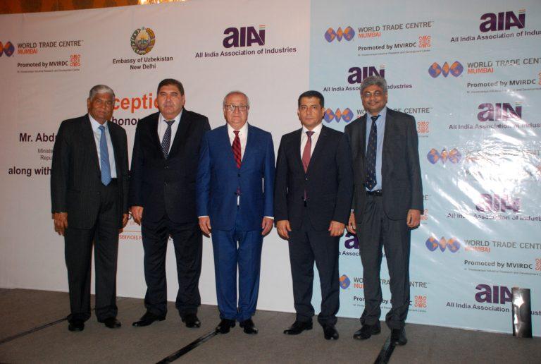 India – Uzbekistan trade to cross USD 1 billion in 3 years, said Mr. Abdulaziz Kh. KAMILOV, Hon'ble Minister of Foreign Affairs, Republic of Uzbekistan