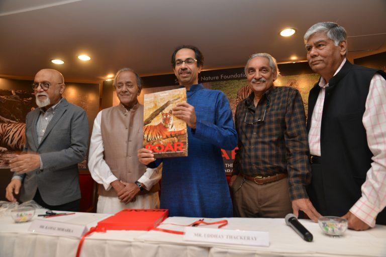 "Launch of a wildlife photography book – ""ROAR"" by Shri. Uddhav Thackeray"